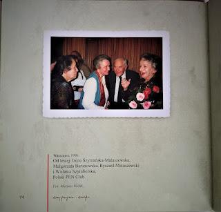 Irena Matuszewska, Małgorzata Baranowska,Ryszard Matuszewski, Wisława Szymborska