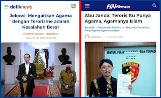 Berdasarkan Pernyataan Jokowi, Abu Janda Harus Ditangkap Karena Kaitkan Agama Dengan Terorisme