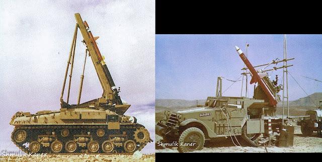 قاذف Kilshon لصواريخ AGM-45 Shrike / Kakhlilit