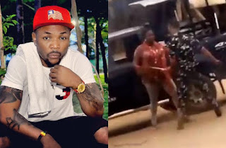 Oritsefemi  accused for supporting police brutality following the use of a victim's video in his new music video.