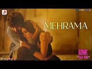 Mehrama Lyrics - Love Aaj Kal  | Darshan Raval