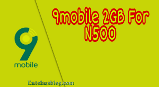 How To Activate 9 mobile 2 GB For 500 Naira, Valid For 2 Days