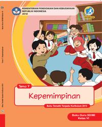 Buku tema 7 Guru Kelas 6 k13 2018