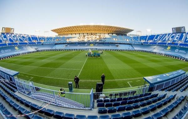 Athletic y Real Madrid entrenaron en la Rosaleda ayer por la tarde