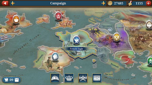 Screenshot Napoleon Strategy Game - Apcoid