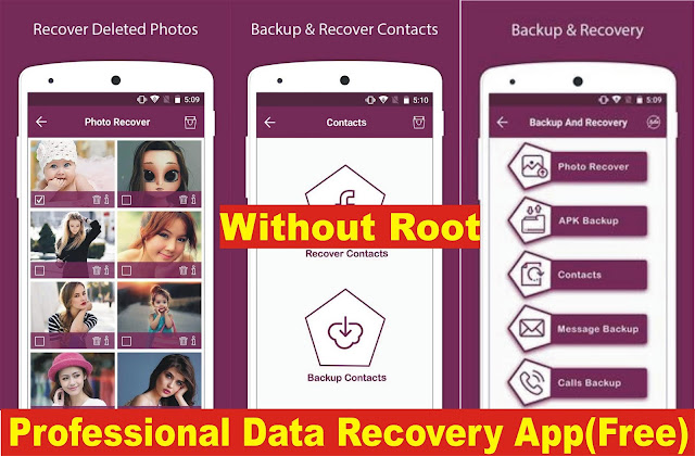 Download Professional Data Recovery App