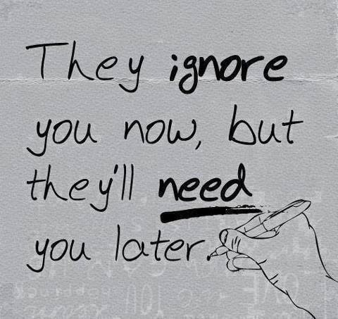 Poetry & Quotes: They ignore