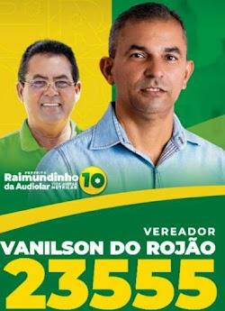 VANILSON DO ROJÃO É UM DOS NOMES QUE SE DESTACA ENTRE OS 13 VEREADORES ELEITOS PARA CÂMARA MUNICIPAL DE PRESIDENTE DUTRA