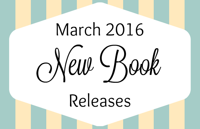 March 2016 New Book Releases