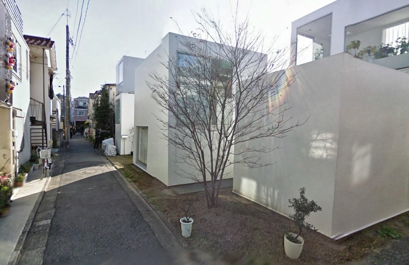 Case giapponesi contemporanee casa moriyama ryue for Case contemporanee