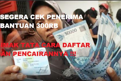 Bansos Rp 300 Ribu Bulan Februari 2021 Kapan Cair, Begini Cara Cek di dtks.kemensos.go.id