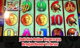 Judi Slot Online Terpercaya Dengan Bonus Terbesar
