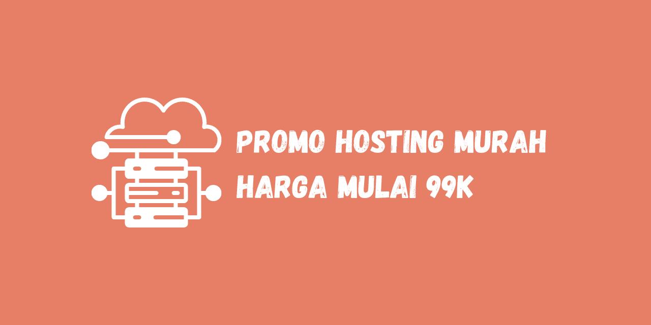 promo hosting unlimited, hosting murah