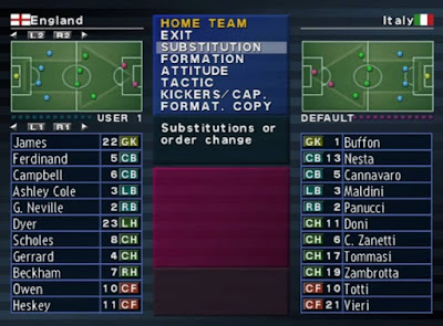 Winning Eleven 6 PS2 WE-UK English Evolution