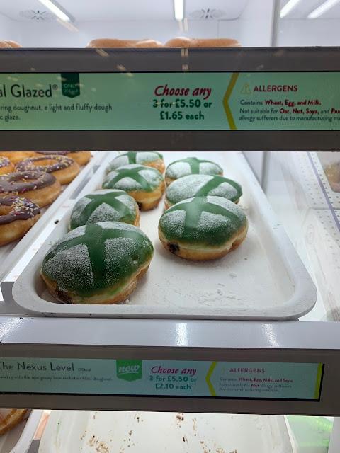 The Nexus Level Xbox Doughnut Krispy Kreme