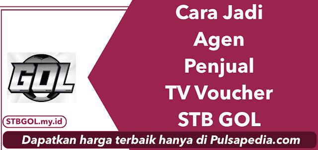 Cara Menjadi Agen Penjual TV Voucher