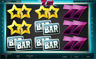 Main screen of 7 Up slot game