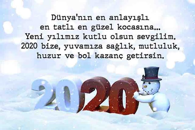 2020 resimli yılbaşı mesajları