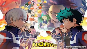 Boku no Hero Temporada 02 25/25 [ Sub español ] [ Mediafire ] [ Mundo Anime ]