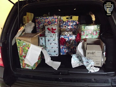 Man Arrested With $300k Worth of Marijuana Disguised as Wrapped Christmas Gifts (Photos)
