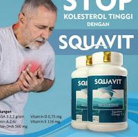 DUI-67 SQUAVIT 40 Softgel Squalene Deep Ocean Fish Liver Oil Paket 10 botol ...,,