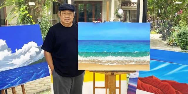 Pamer Lukisan SBY, Politisi Demokrat: Biru Laut Mencipta Ketenangan, Indah Tanpa Merah Amarah