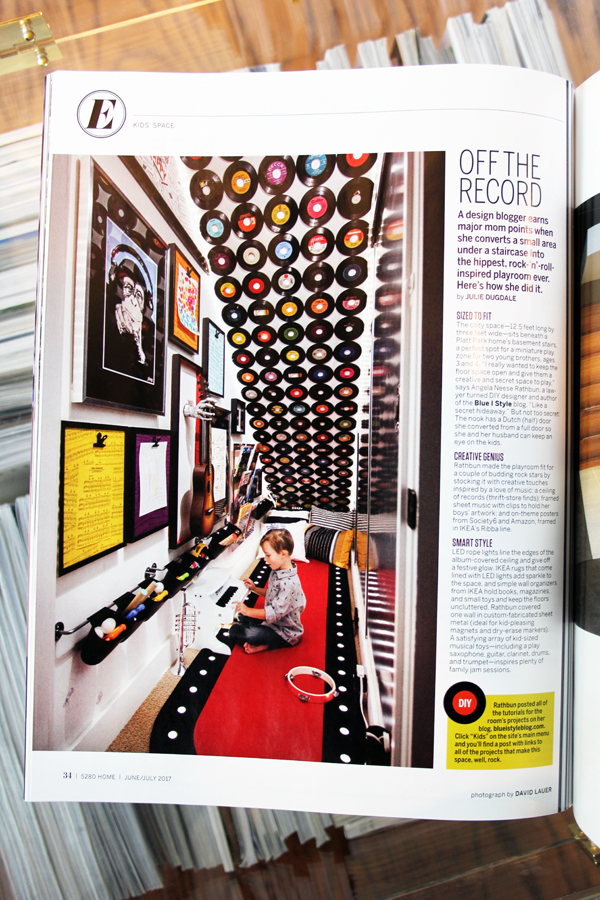 Under Stair Playroom 5280 Home Magazine Feature