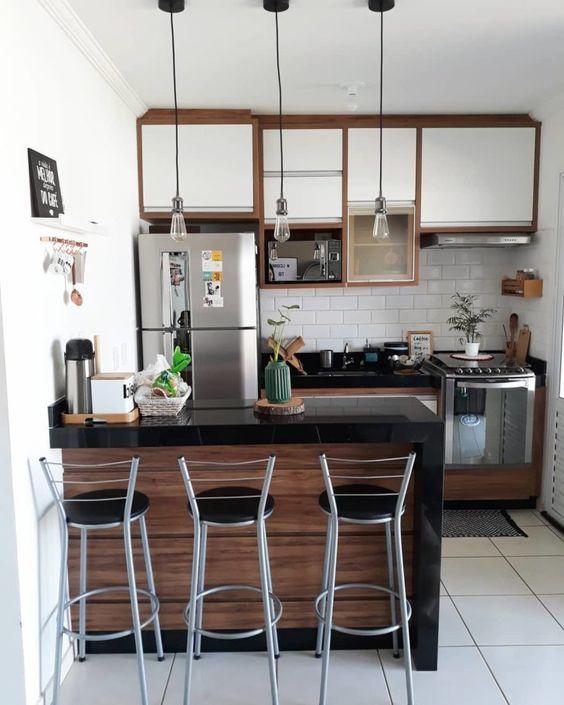 tiny kitchen decoration idea