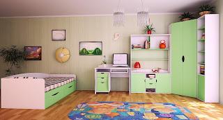 Обустройство детской комнаты по возрасту и интересам ребенка