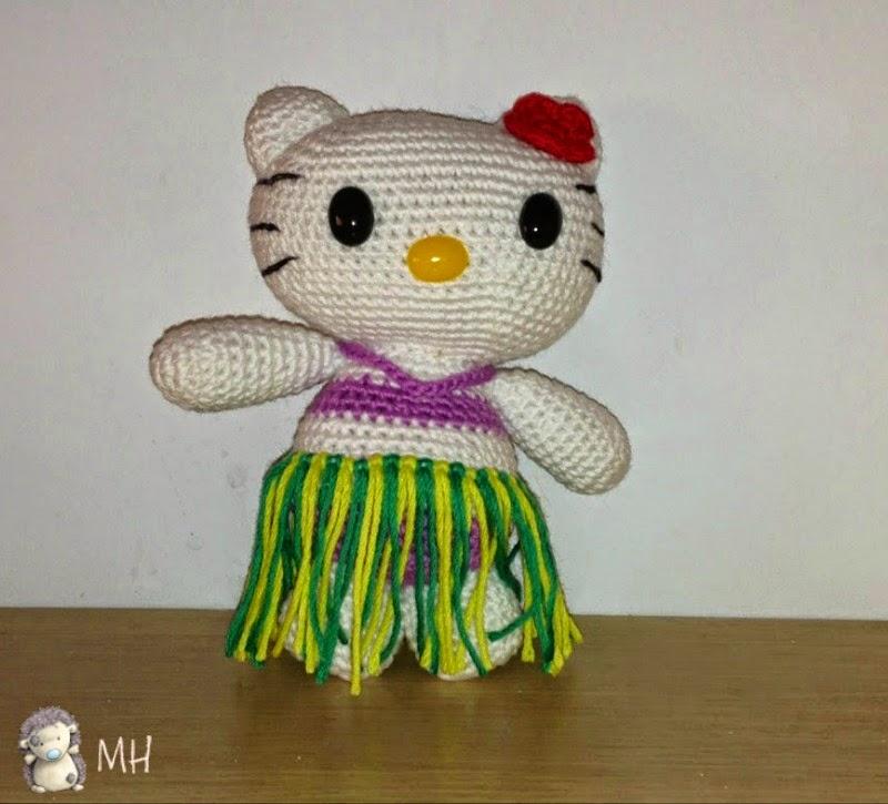 Amigurumi Hello Kitty Deutsch : Pin Hello Kitty Amigurumi on Pinterest