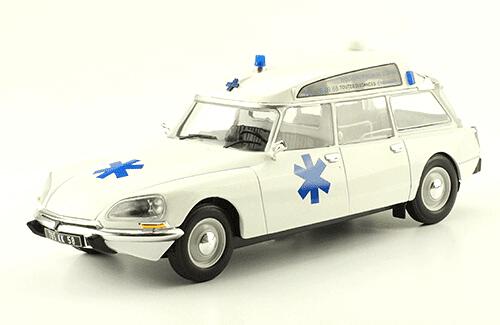 collection citroën 1/24a Citroën DS 19 Break Ambulance
