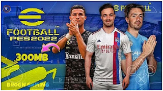 Download eFootball PES 2022 PPSSPP Android Best Graphics English Version & Update Full Transfer