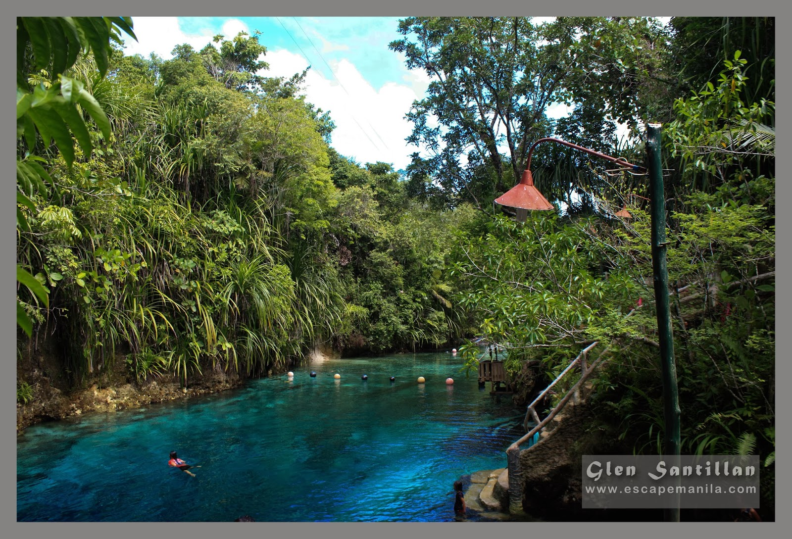 tourist spots in surigao de sur: Hinatuan Enchanted River