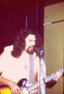 Martin Espinosa bass guitar, singer