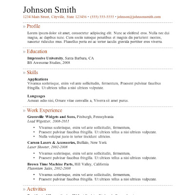 Question about Jobs & resumes?