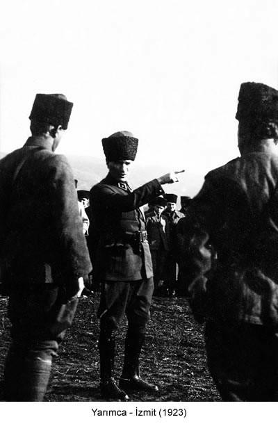 Atatürk Yarımca İzmit 1923 Fotoğraf