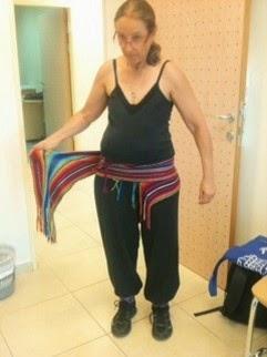 חגורה דינמית לכאבי גב בהריון