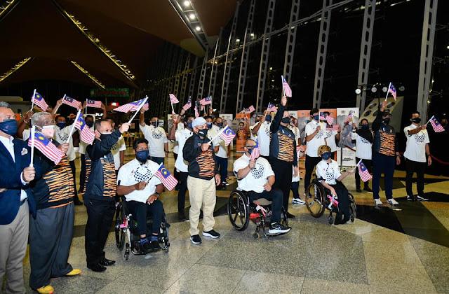 Atlet Malaysia Di Sukan Paralimpik Tokyo 2020