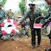 Danramil Badar, Pimpin Upacara Pemakaman Militer Dengan Khidmat