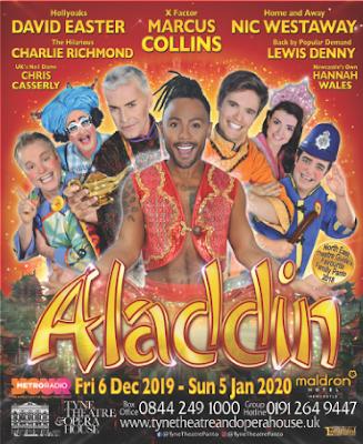 Aladdin Pantomime Newcastle