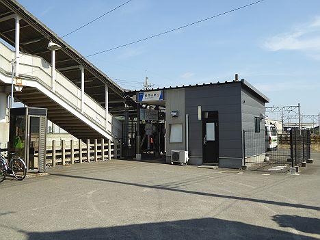 東武伊勢崎線 世良田駅舎