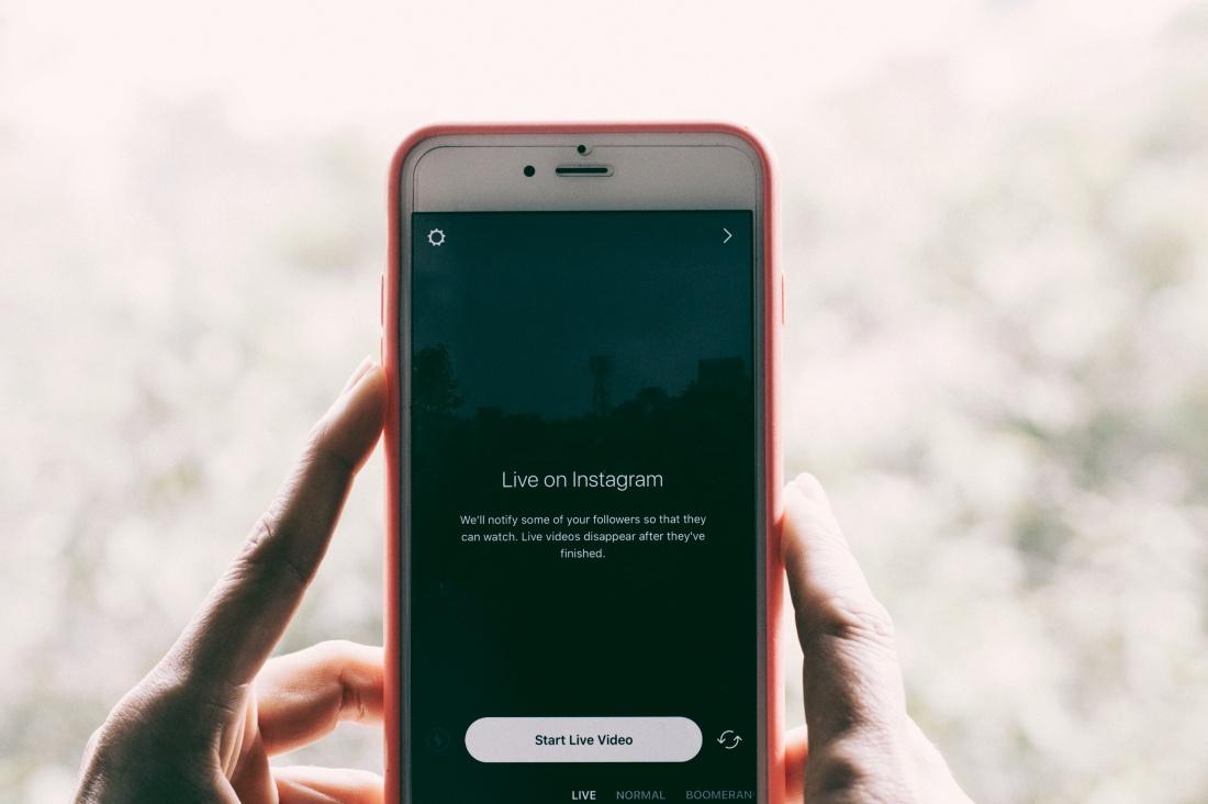 Técnicas para hacer Directos o Instagram Live