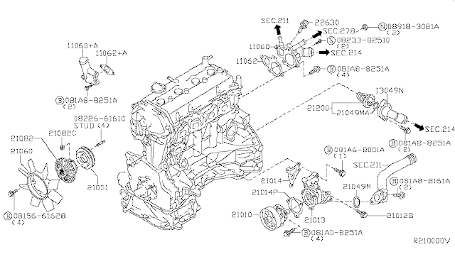 Sensor de temperatura Nissan Frontier Resource