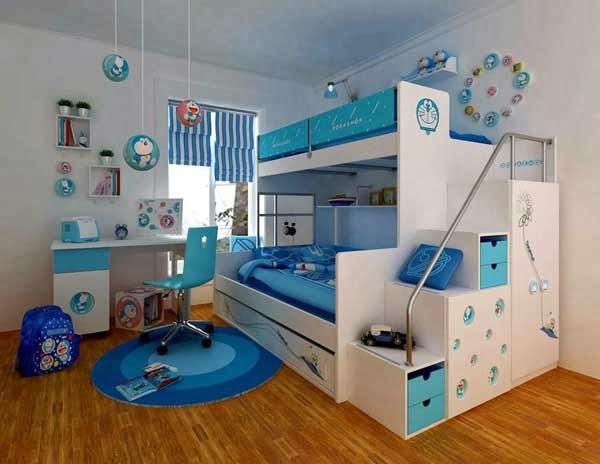 habitación litera niños