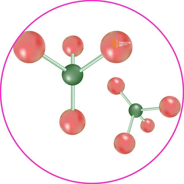 Tiap-tiap elektron dapat berikatan dengan sesama atom C atau atom lain termasuk halogen (F, Cl, Br, atau I) melalui penggunaan elektron bersama. Dengan demikian, terbentuk 4 ikatan kovalen tunggal. Tiap atom karbon juga dapat berikatan rangkap dua dengan sesama atom C atau unsur lain.