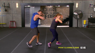Front Slashing Elbow - MMA Shred - Core de Force