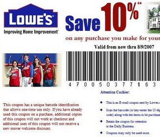 teacher discount at lowes