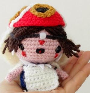 http://www.thesunandtheturtle.com/2015/01/princess-mononoke-free-amigurumi-pattern.html