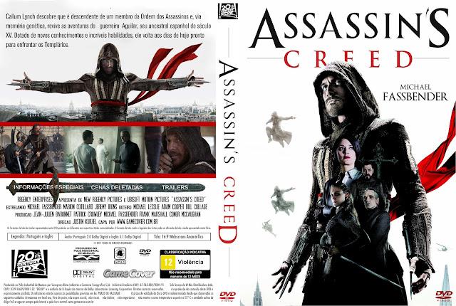 Capa DVD Assassins Creed 2017 [Exclusiva]