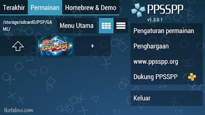 cara main game psp di android dengan ppsspp